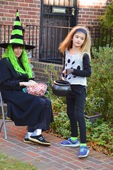 Getting Candy From A Nice Witch On Burns Street