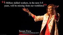 TEDxCrestmoorParkWomen 2017 Susan Frew Quote 1