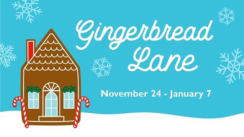 """Gingerbread Lane"" at the Orlando Science Center"