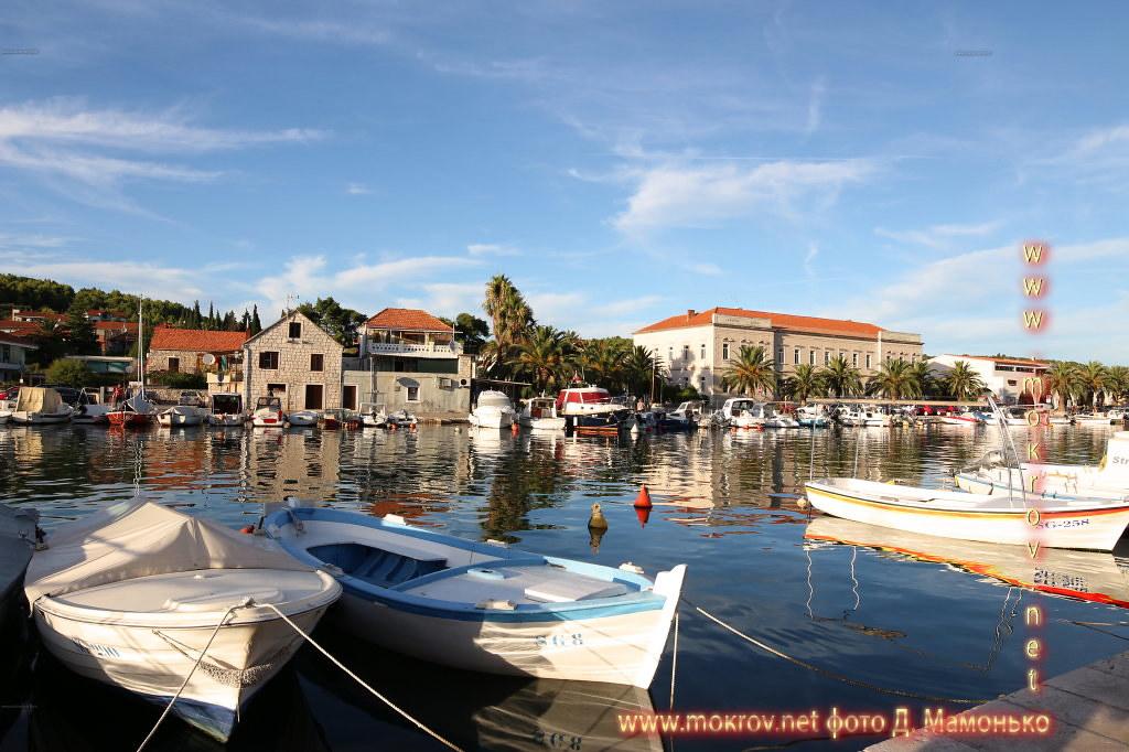 Хвар — остров в Адриатическом море, в южной части Хорватии Фотоискусство