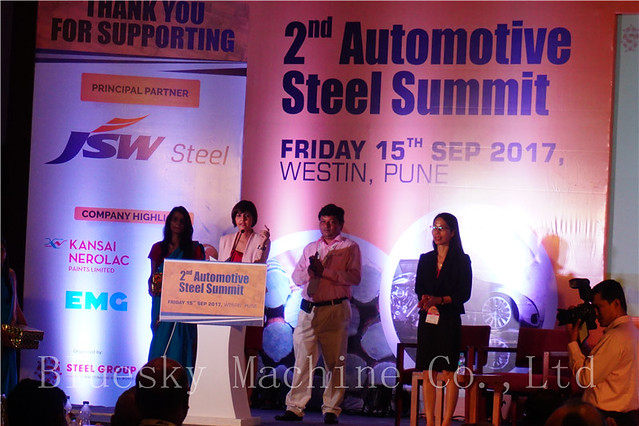 Slitting Machine Automotive Steel Summit