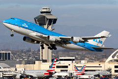 KLM | Boeing 747-400M | PH-BFC | Los Angeles International