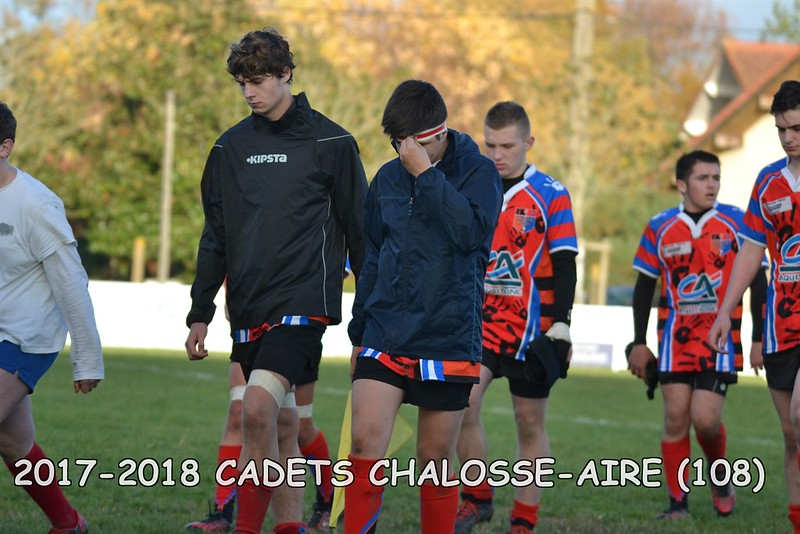 2017-2018 CADETS CHALOSSE - AIRE
