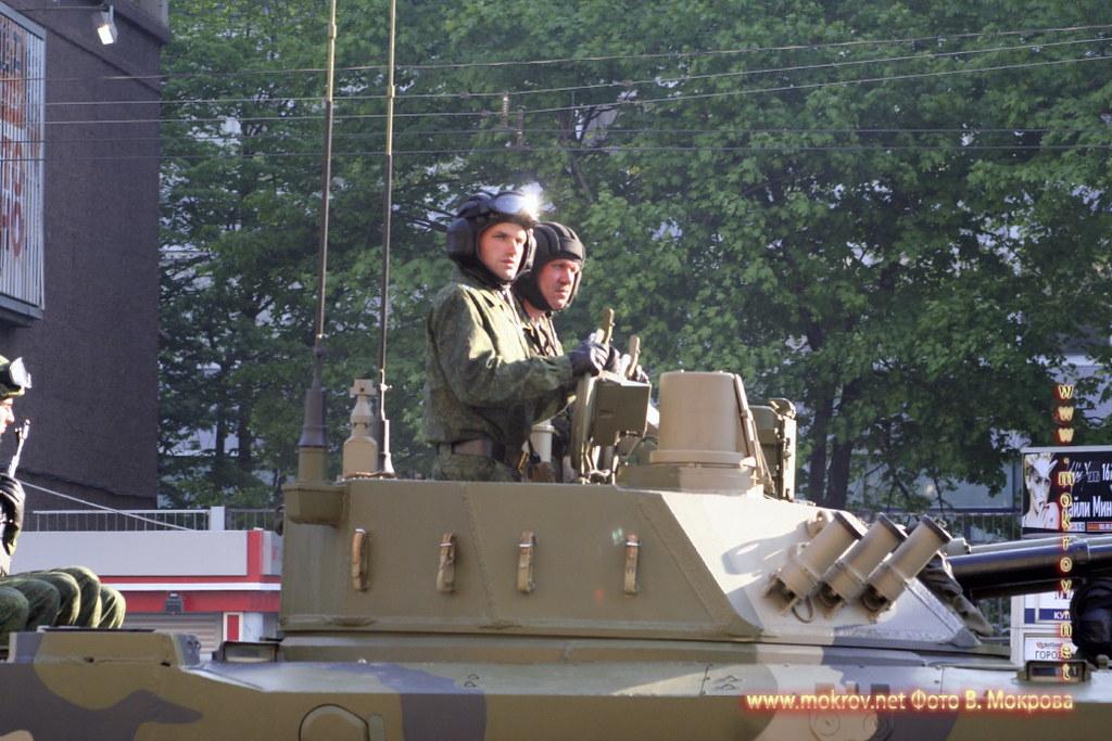 Военный парад 9 мая 2008 г. в Москве и фотограф