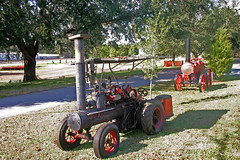 Antique Steam Tractor, Pinoneer Florida Museum, Dade City (2 of 2)