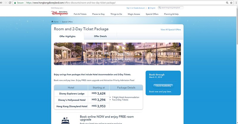 Room and 2-Day Ticket Package