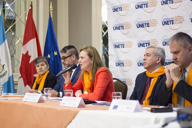 Conferencia de Prensa Campaña ÚNETE para poner fin a la violencia contra mujeres y niñas 2017