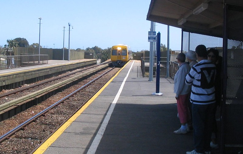 Train at Port Adelaide 2007