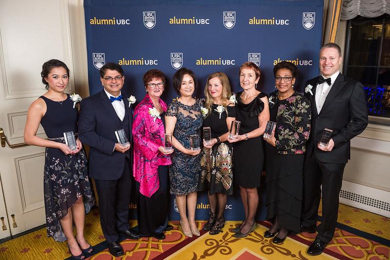 alumni UBC 2017 Achievement Awards