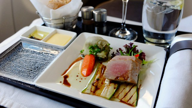 Business Class In-flight Meal - Etihad