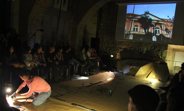 BALLET ROSES - SILVIA ZAYAS - UROGALLO, II FESTIVAL DE POESÍA EXPANDIDA - PALACIO DEL CONDE LUNA 27.10.17