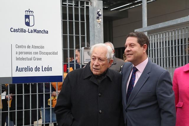 Inauguración del CADIG 'Aurelio de León' de Talavera