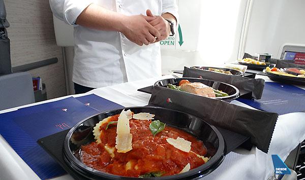 LATAM nuevo servicio comidas Economy longhaul (RD)