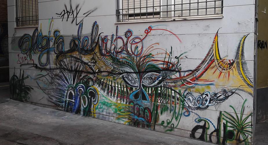 Street art in Valencia, Barrio del Carmen | Mooistestedentrips.nl