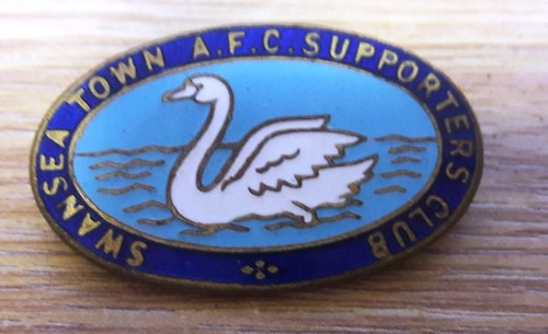 1950 Swansea Town Supporters Club Badge