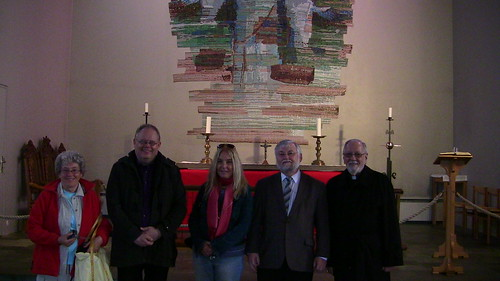 Inside the Medievel Cathedral with Bishop Kristján Valur Ingólfsson of Skálholt, Iceland