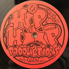 M.C. PET NYCE, COOL D.J. 'FIQ:X-TRA DOPE PROMO(LABEL SIDE-B)