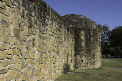 Reconstructed Wall at the Mission