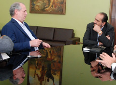 Visita do ex-ministro Ciro Gomes