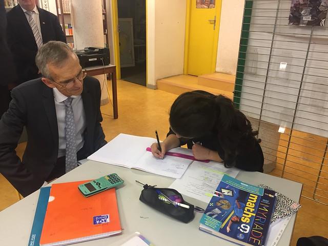 Mise en œuvre du dispositif « Devoirs faits » au collège Lucie Aubrac de Givors