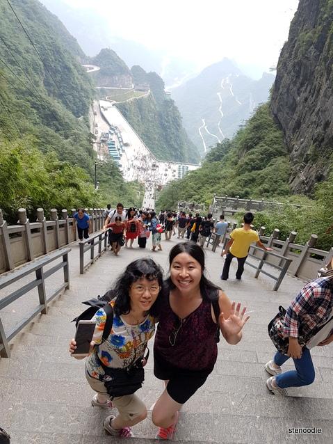Tianmen Mountain stairs