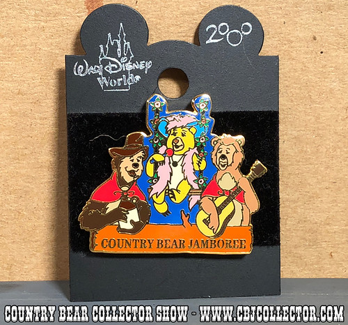 1999 Walt Disney World Country Bear Jamboree Pin - Country Bear Collector Show #124