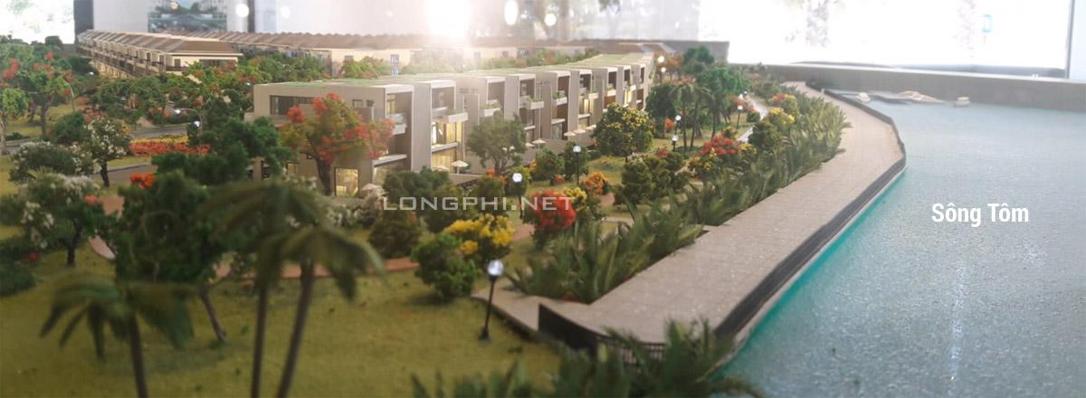 Phối cảnh biệt thự đơn lập Lavila De Rio Nam Sài Gòn (Kiến Á group).