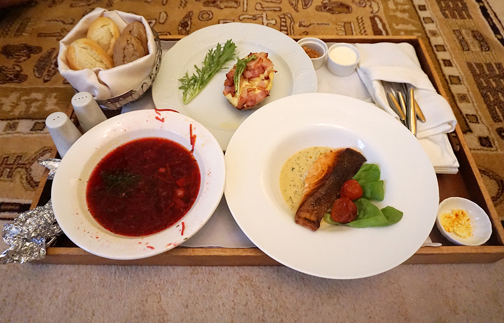 Petroff Palace Hotel Review Room Service