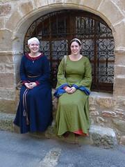 Medieval ladies in Alet les Bains  (17)