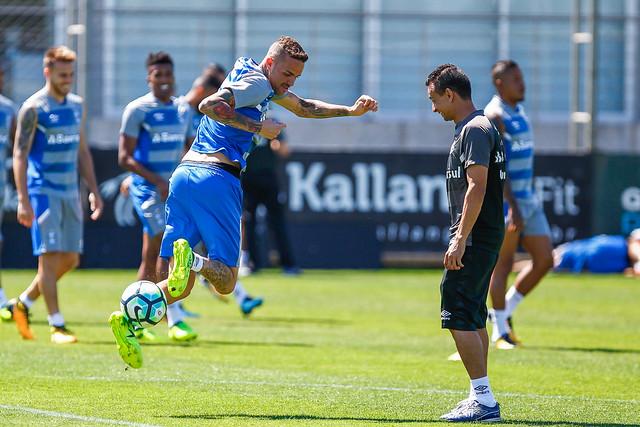 Treino Grêmio 14/11/17