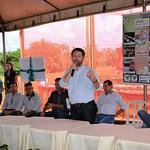Inauguração da Unidade Demonstrativa de Treinamento Cultivo de Morango Suspenso, Sistema Poupa Água.