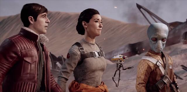 Star Wars Battlefront 2 Del Marries Iden
