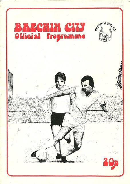 Brechin City v Rangers 19810902