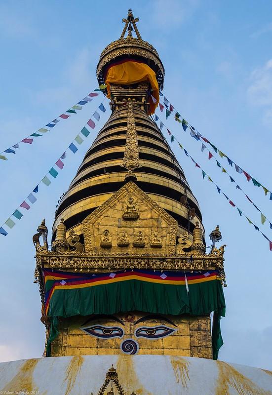 in Kathmandu_13 varful templului