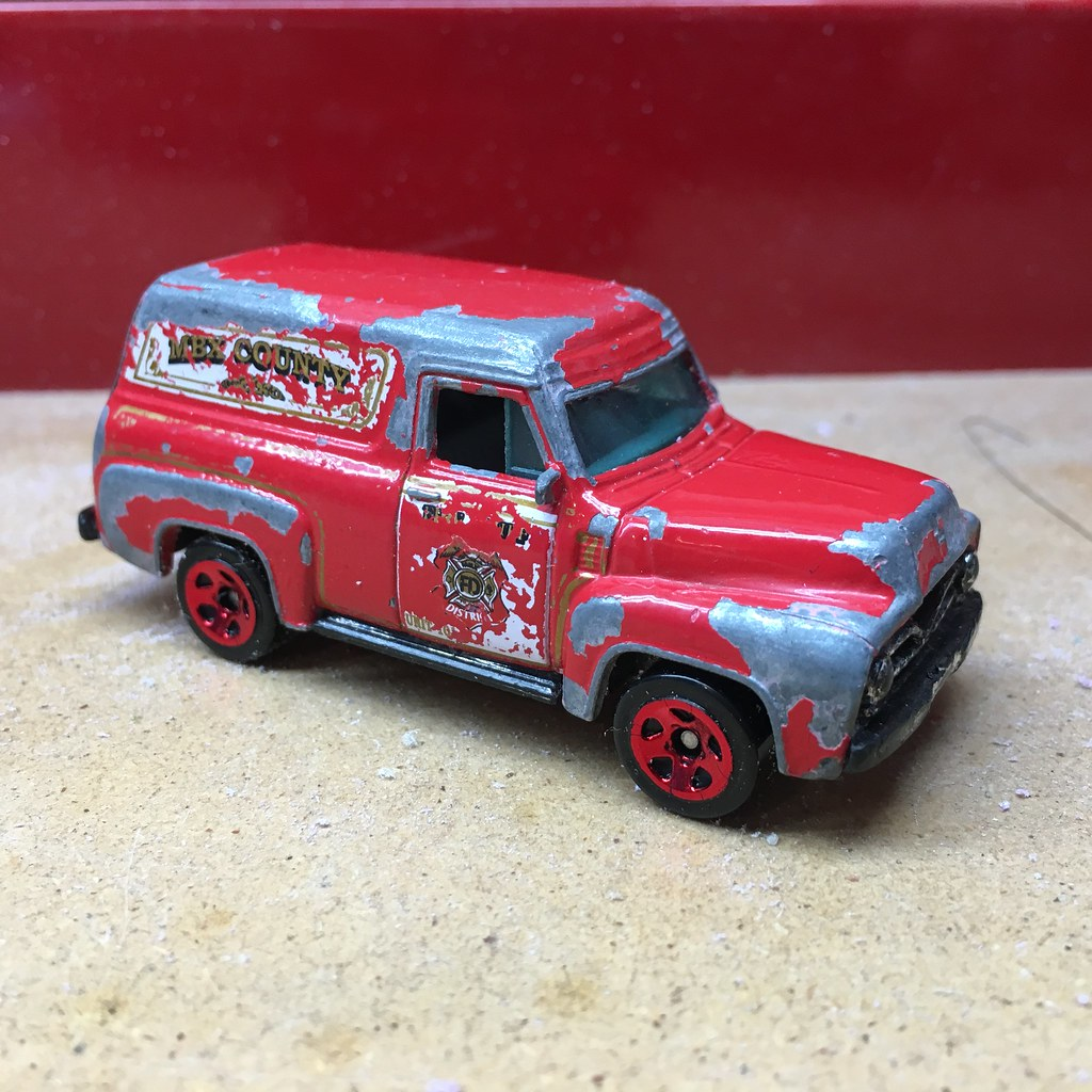 Matchbox – Ford F-100 Panel Delivery (1955) | My Life in Scale