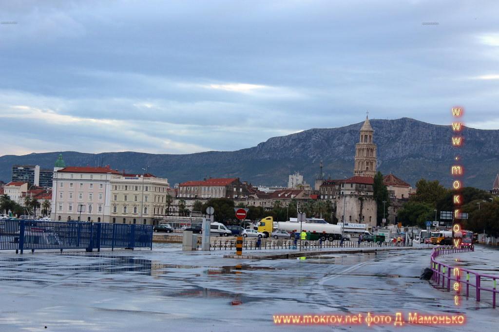 Сплит — город в Хорватии фотозарисовки