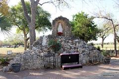 The Grotto at Mission Nuestra Señora de la Purísima Concepción de Acuñain