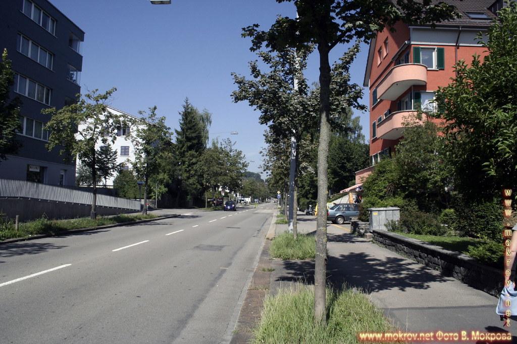Исторический центр города Цюриха прогулки туристов