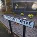 Patent Drive, Wednesbury - Trident Drive - road sign - Britannia Park - Folkes