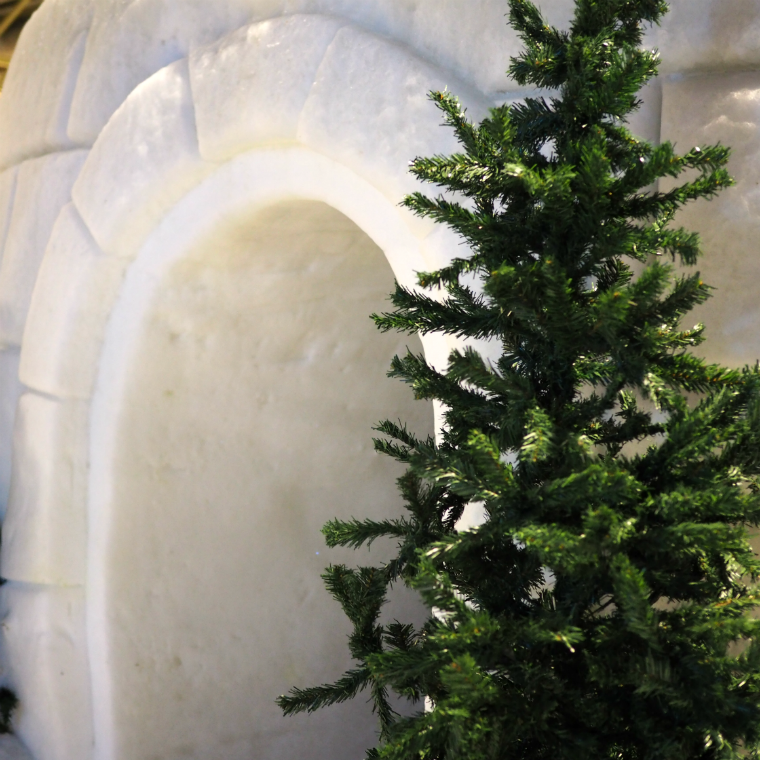Winter World Helsinki iglu