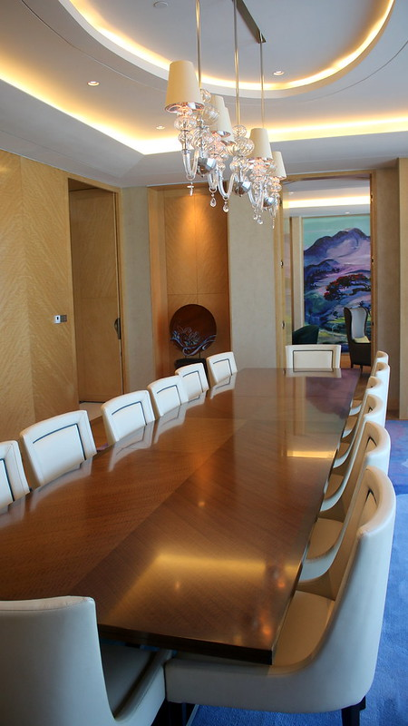 Conference room in the Presidential Suite
