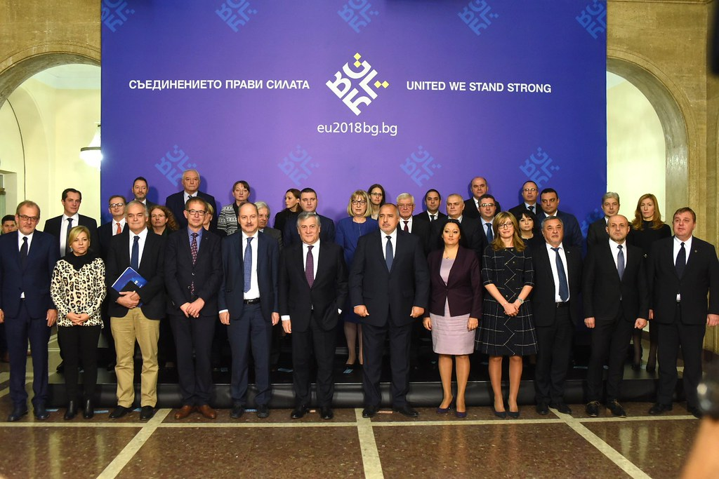 Visit of EP President Antionio Tajani and Conference of Presidents in Sofia