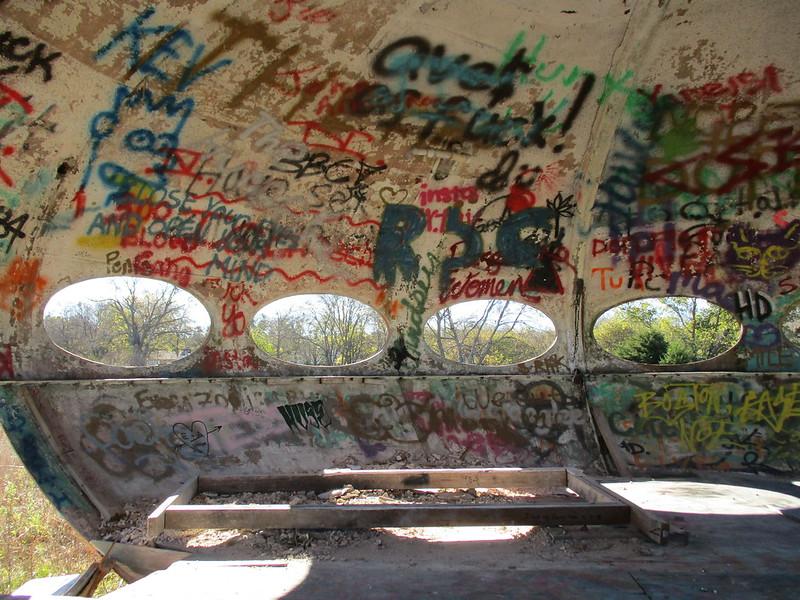 Abandoned Futuro House Royse City,TX