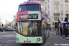 Wrightbus NRM NBFL - LTZ 1215 - LT215 - eBay - Hackney Central 38 - Arriva London - London 2017 - Steven Gray - IMG_5648