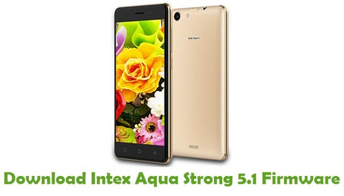 Intex Aqua Strong 5.1 Firmware