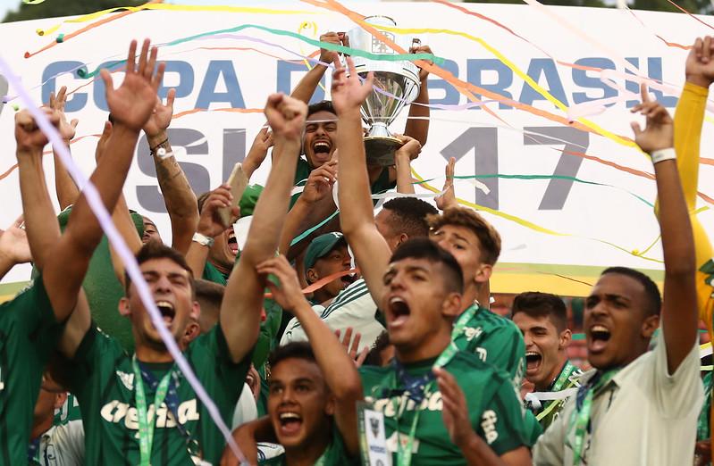 Palmeiras campeão da Copa do Brasil Sub-17