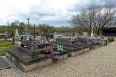 Graveyard, Saint-Germain-de-la-Rivière - Photo of Périssac