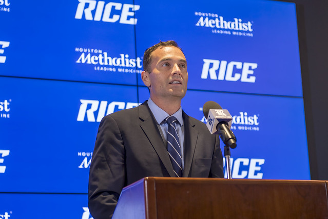 Mike Bloomgren introductory news conference