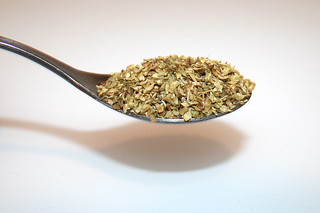 07 - Zutat Oregano / Ingredient oregano