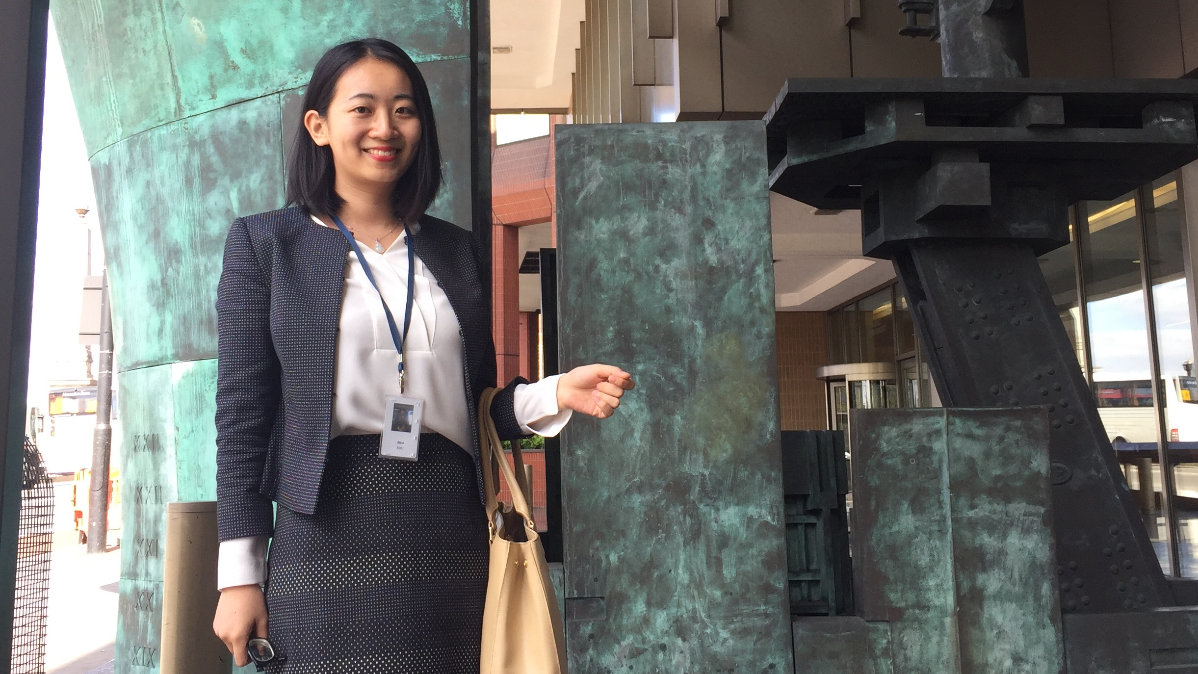 Jihui Zhu, MA Translation with Business Interpreting student